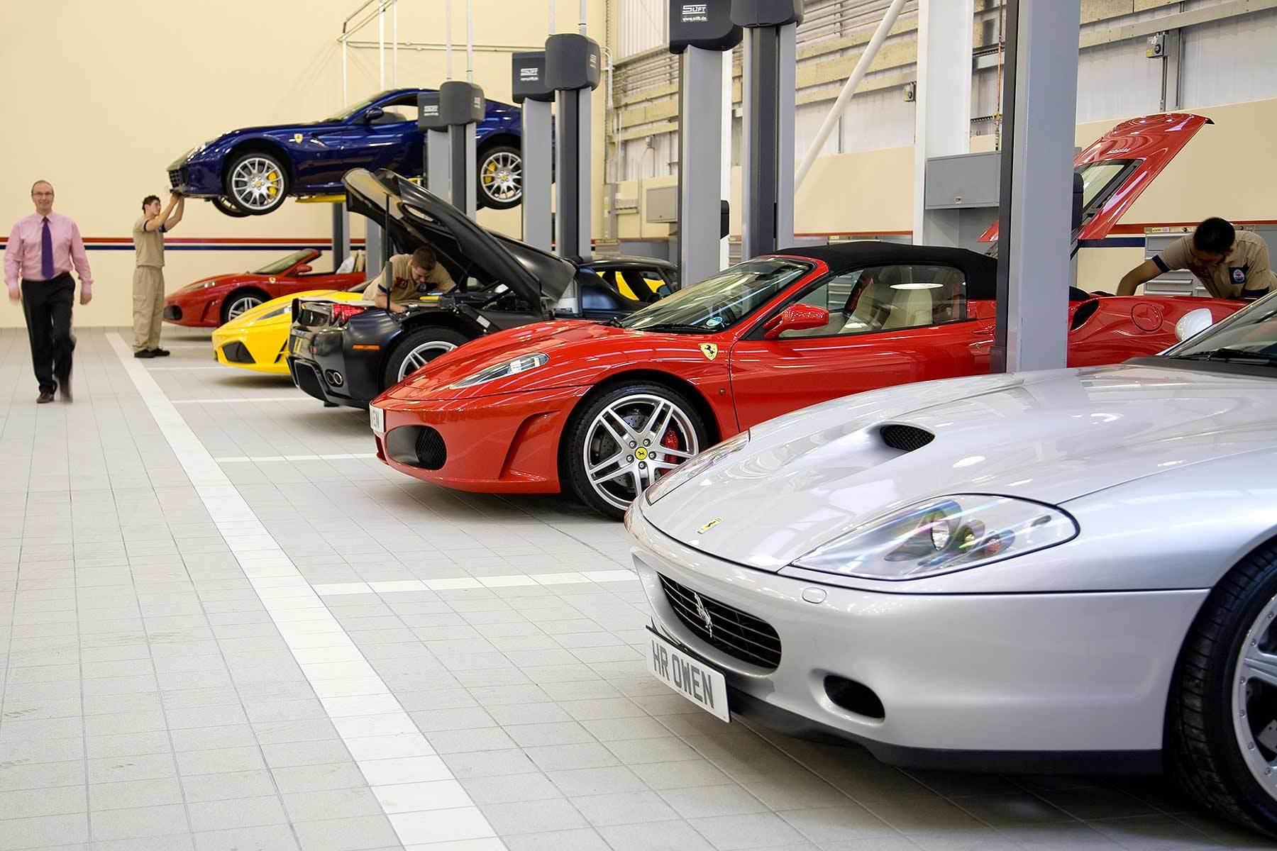 Ferrari Service Centre